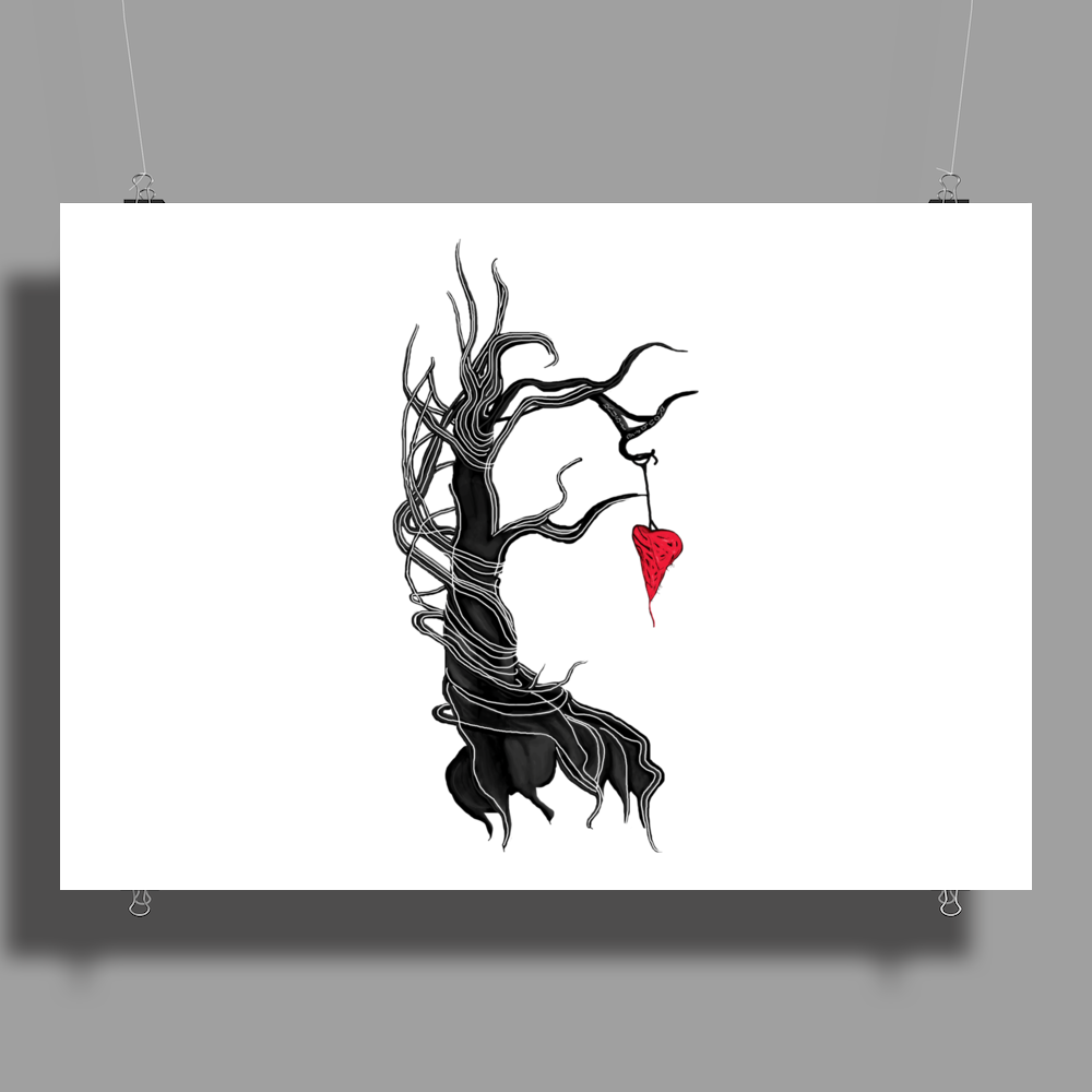 Love, like a tree Poster Print (Landscape)