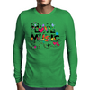 LOVE MUSIC Mens Long Sleeve T-Shirt