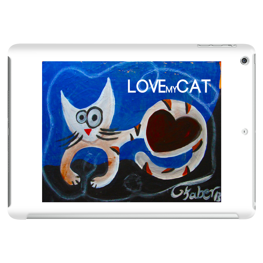 Love my Cat Tablet (horizontal)