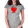 Love Notes Reboot Womens Fitted T-Shirt