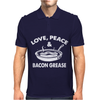 Love Peace and Bacon Grease Mens Polo