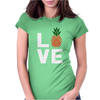 Love Pineapples Womens Fitted T-Shirt