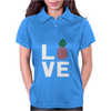 Love Pineapples Womens Polo