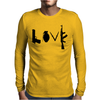 Love , Weapon Mens Long Sleeve T-Shirt