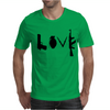 Love , Weapon Mens T-Shirt