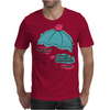 LOVERS UMBRELLA Mens T-Shirt