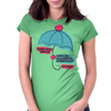 LOVERS UMBRELLA Womens Fitted T-Shirt