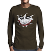 Low Poly Joker Mens Long Sleeve T-Shirt