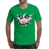 Low Poly Joker Mens T-Shirt