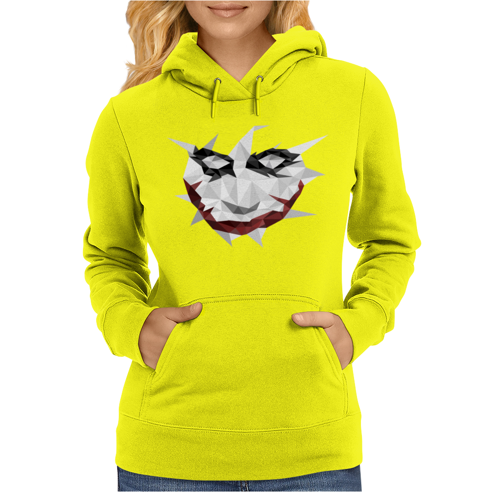 Low Poly Joker Womens Hoodie