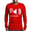 Low Volume kills Music Mens Long Sleeve T-Shirt