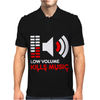 Low Volume kills Music Mens Polo