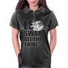 LS All The Things Womens Polo