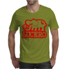 Lucero Elephant Grey Mens T-Shirt