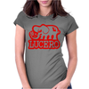 Lucero Elephant Grey Womens Fitted T-Shirt