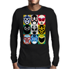 Lucha Libre 2 Mens Long Sleeve T-Shirt