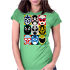 Lucha Libre 2 Womens Fitted T-Shirt