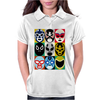 Lucha Libre 2 Womens Polo