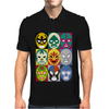 Lucha Libre Mens Polo