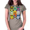 Lucha Libre Womens Fitted T-Shirt
