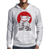 Lucky Cat Mens Hoodie