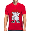 Lucky Cat Mens Polo