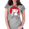 Lucky Cat Womens Fitted T-Shirt