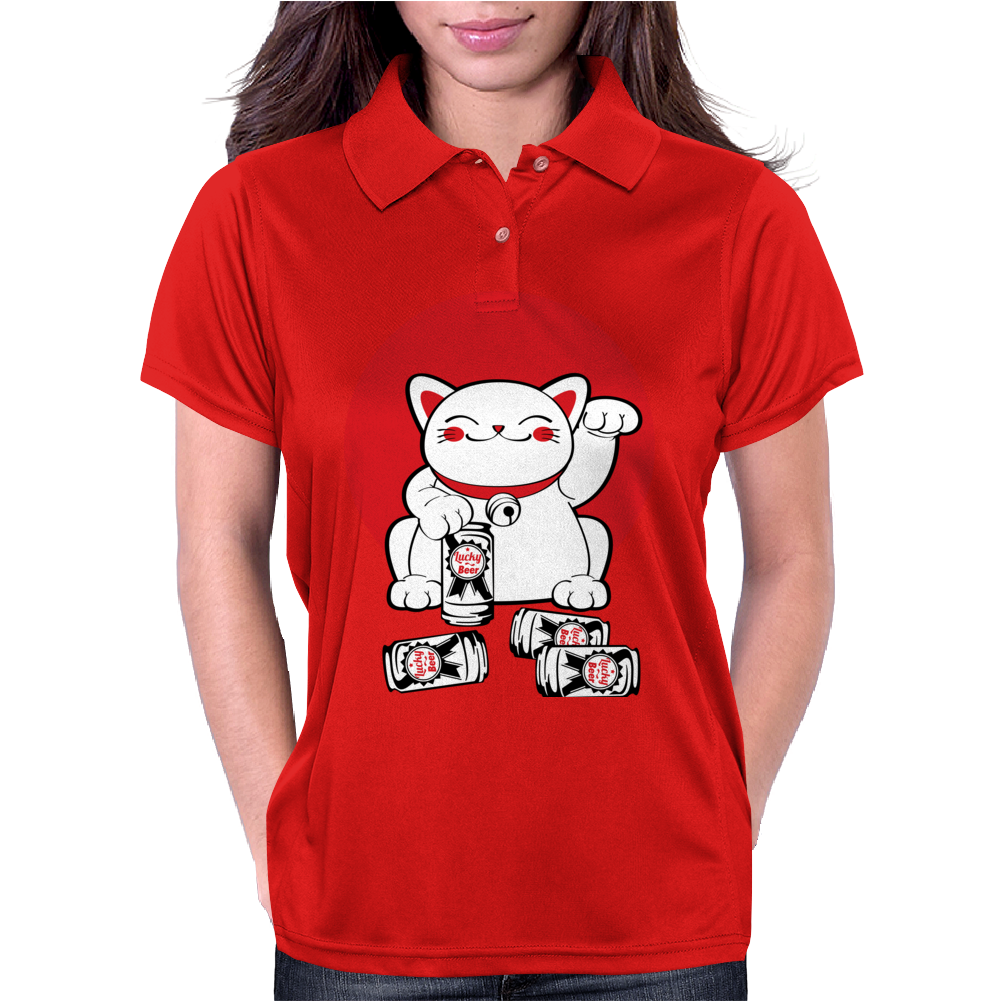 Lucky Cat Womens Polo
