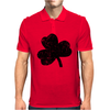 Lucky Four Leaf Clover Mens Polo