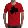 Lucky Four Leaf Clover Mens T-Shirt