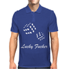 lucky fuers dice Mens Polo