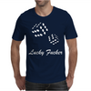 lucky fuers dice Mens T-Shirt