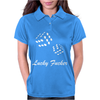 lucky fuers dice Womens Polo