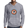 Lucky Number Seven Mens Hoodie
