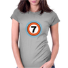 Lucky Number Seven Womens Fitted T-Shirt