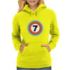Lucky Number Seven Womens Hoodie