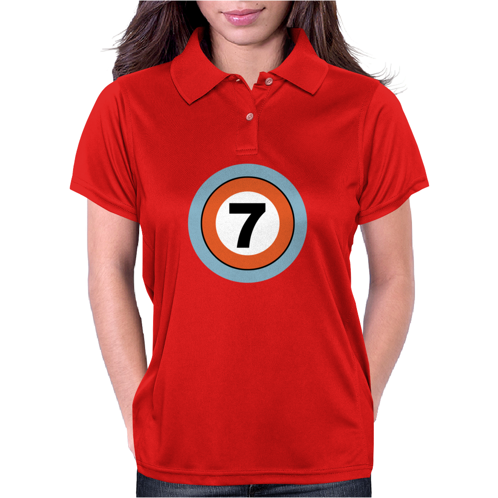 Lucky Number Seven Womens Polo