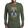 Luigi Original Player Ideal Birthday Present or Gift Mens Long Sleeve T-Shirt
