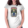 Luigi Original Player Ideal Birthday Present or Gift Womens Fitted T-Shirt