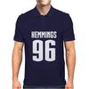 Luke Hemmings 96 5SOS 5 Seconds Of Summer Mens Polo