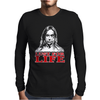 LUST FOR LIFE IGGY POP ROCK Mens Long Sleeve T-Shirt