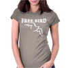 Lynyrd Skynard Free Bird Ronnie Van Zant Womens Fitted T-Shirt