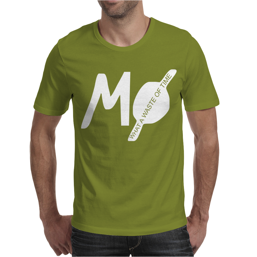MØ What A Waste Of Time Mens T-Shirt