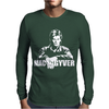 Mac Gyver Schwarz Mens Long Sleeve T-Shirt