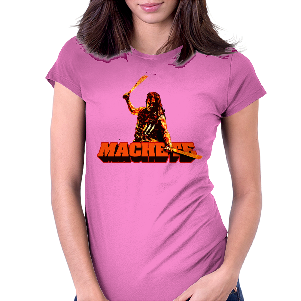 Machete Womens Fitted T-Shirt