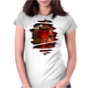 Machine Heart Womens Fitted T-Shirt