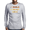 Mad Max a World without Hope Mens Long Sleeve T-Shirt