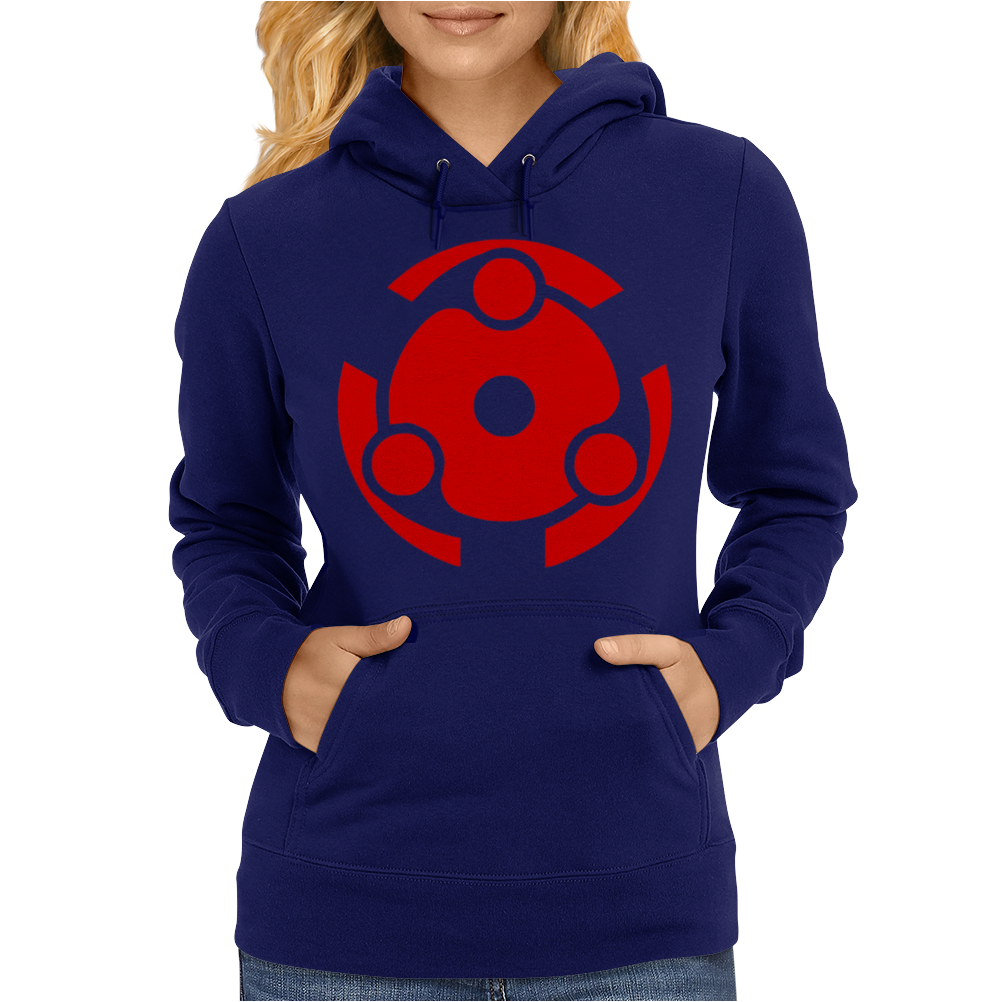 MADARA Eternal Mangekyo Sharingan Naruto Womens Hoodie
