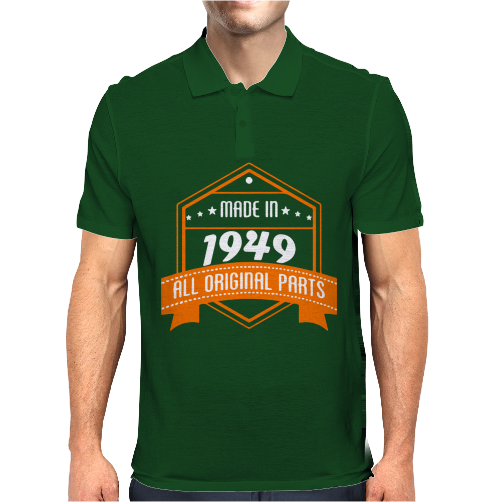 Made In 1949 All Original Parts Mens Polo
