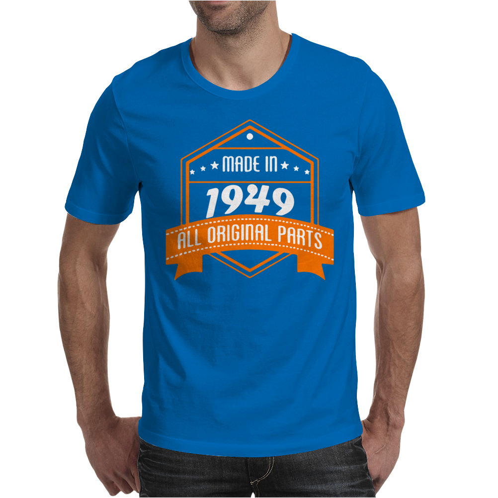 Made In 1949 All Original Parts Mens T-Shirt
